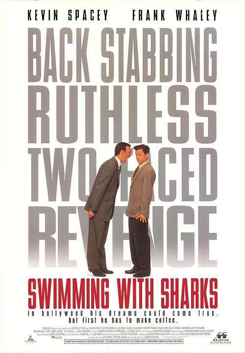 Swimming with Sharks kapak