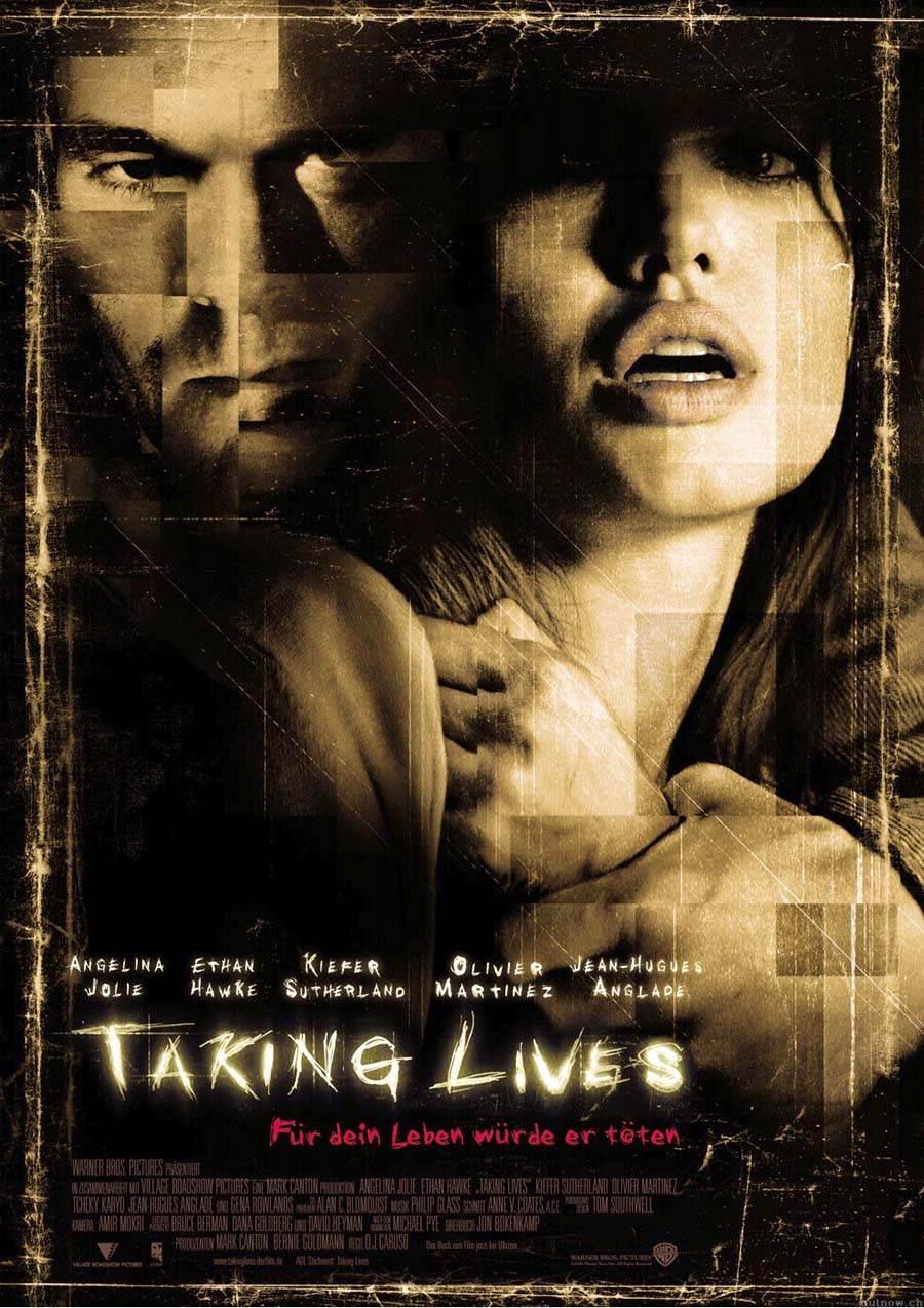 Taking Lives kapak