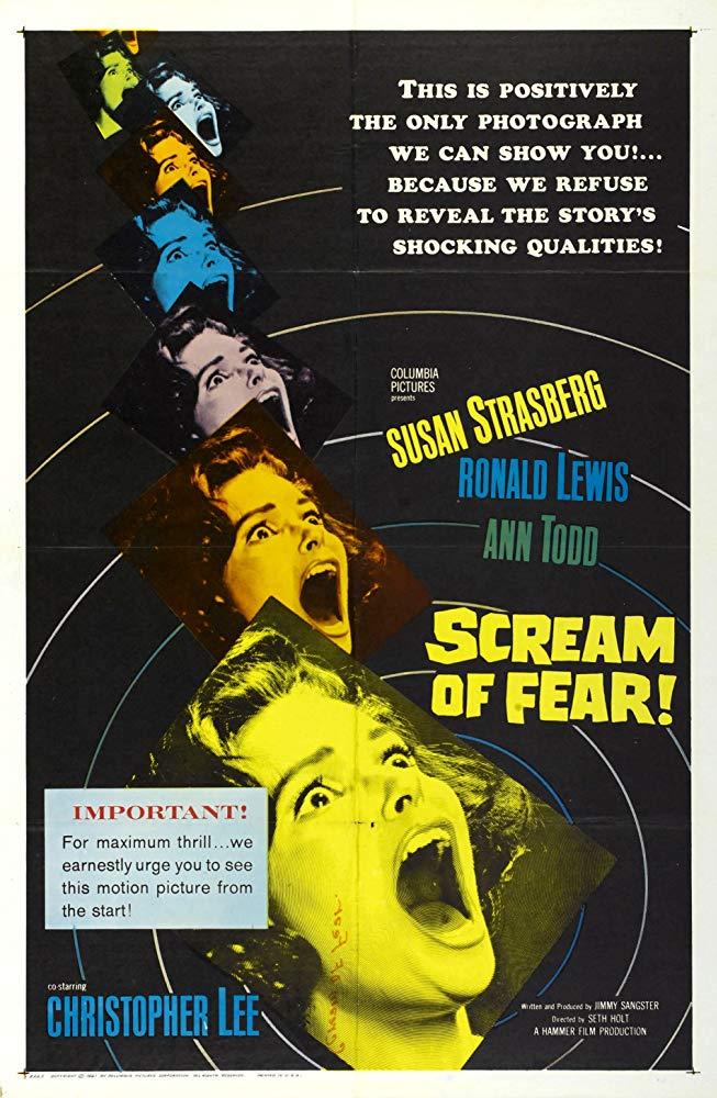Scream of Fear kapak