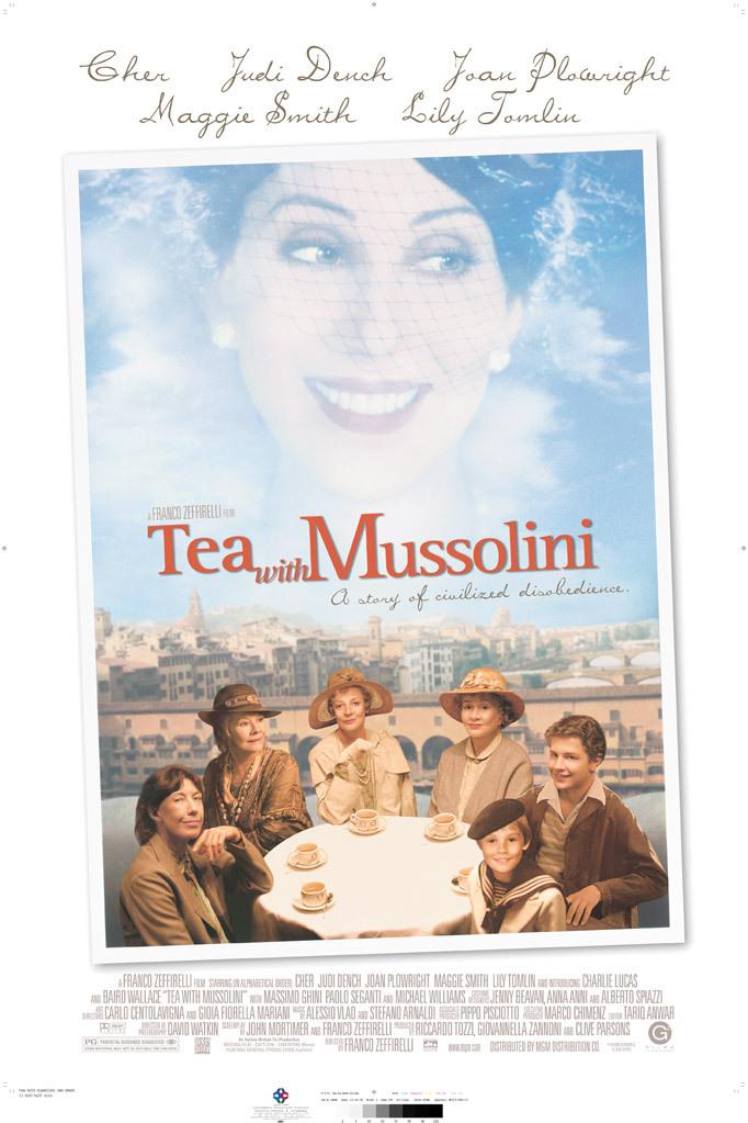 Tea with Mussolini kapak