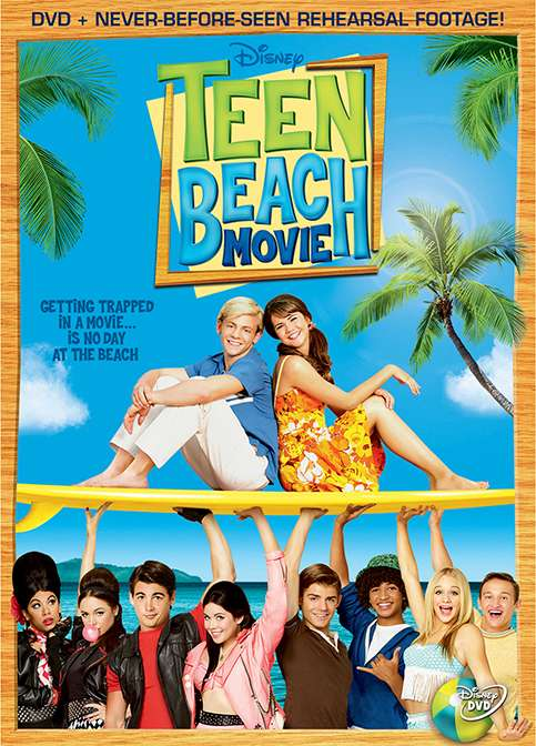 Teen Beach Movie kapak
