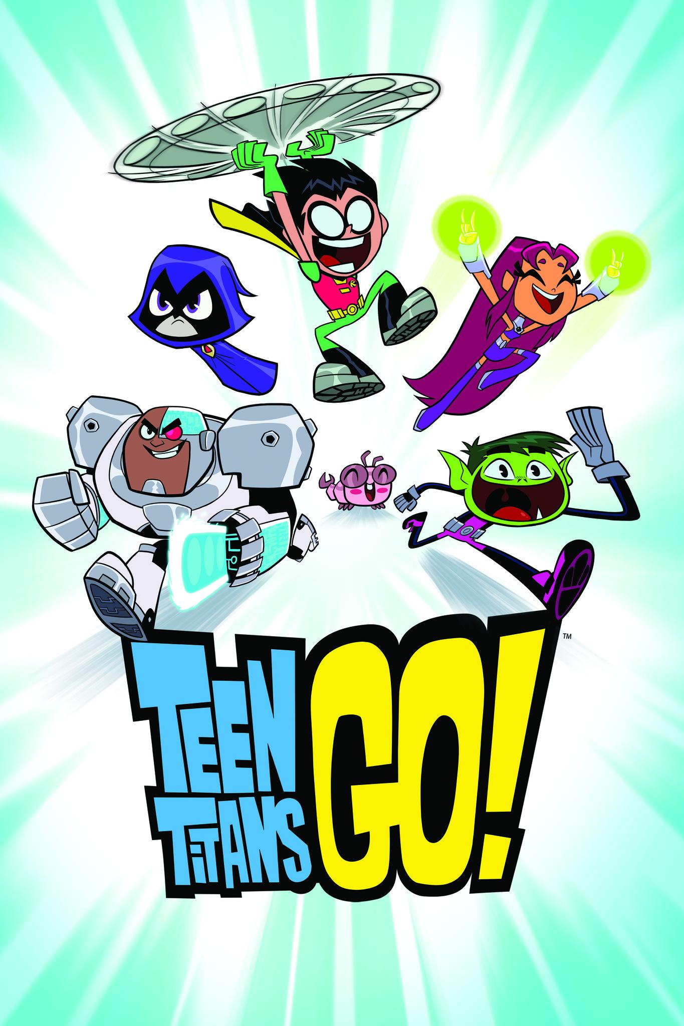 Teen Titans Go! kapak