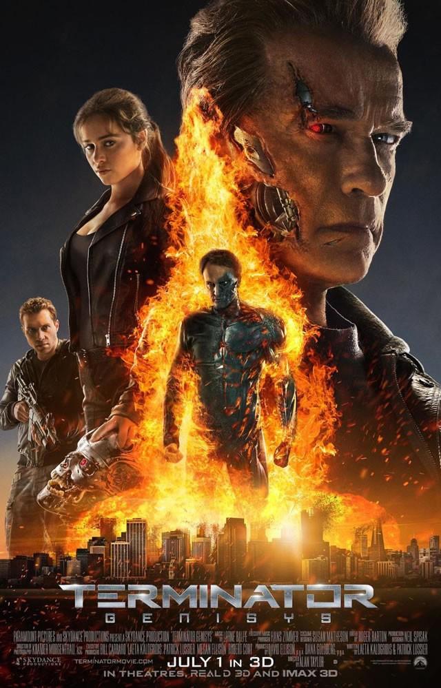 Terminator Genisys kapak