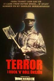Terror i Rock 'n' Roll Önsjön kapak