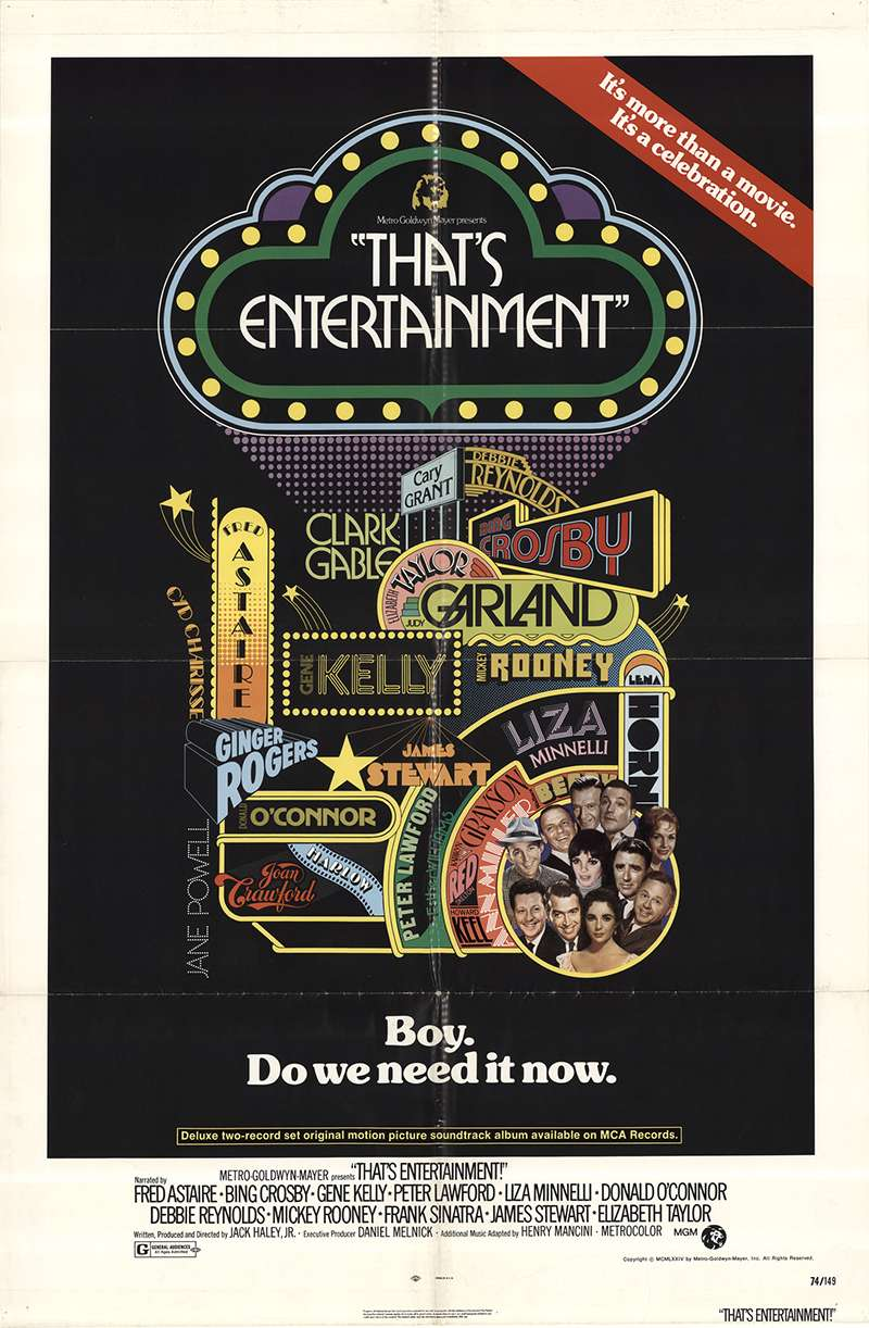 That's Entertainment! kapak