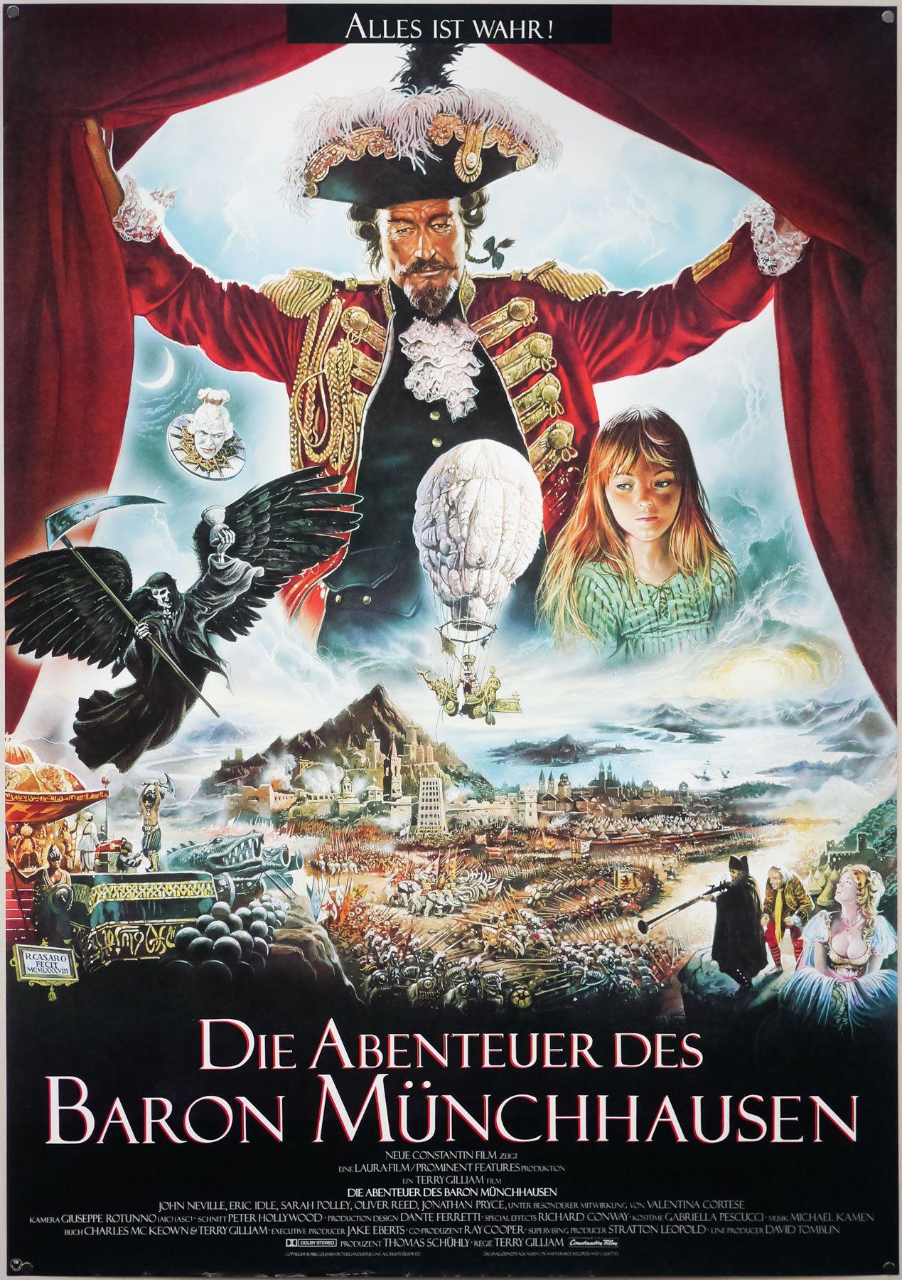 The Adventures of Baron Munchausen kapak