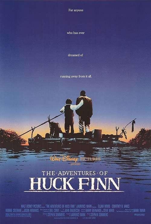 The Adventures of Huck Finn kapak