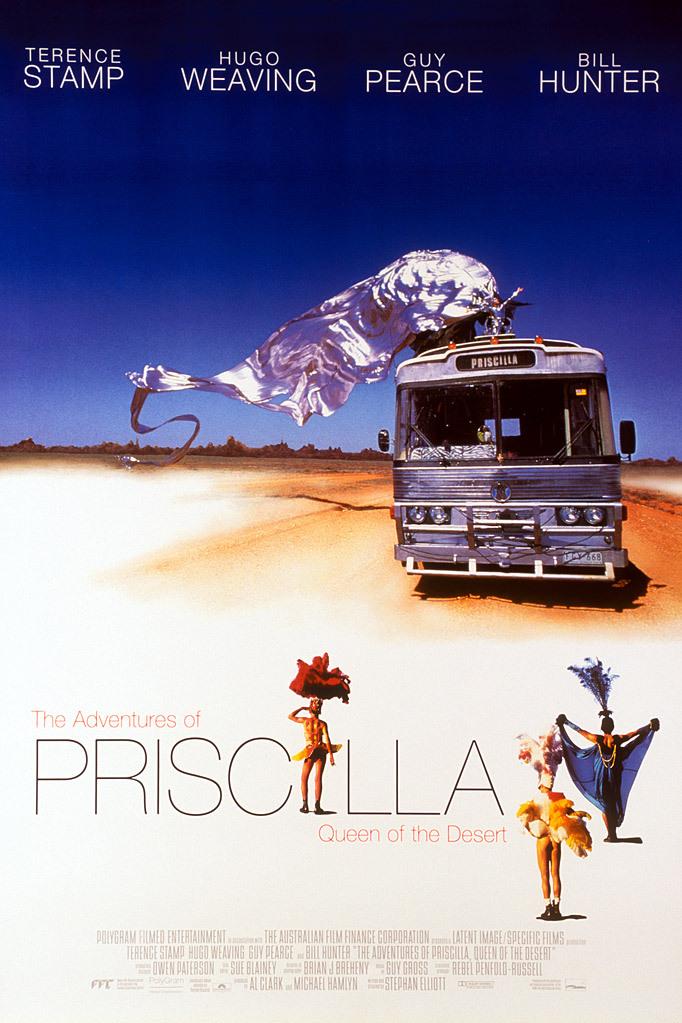 The Adventures of Priscilla, Queen of the Desert kapak
