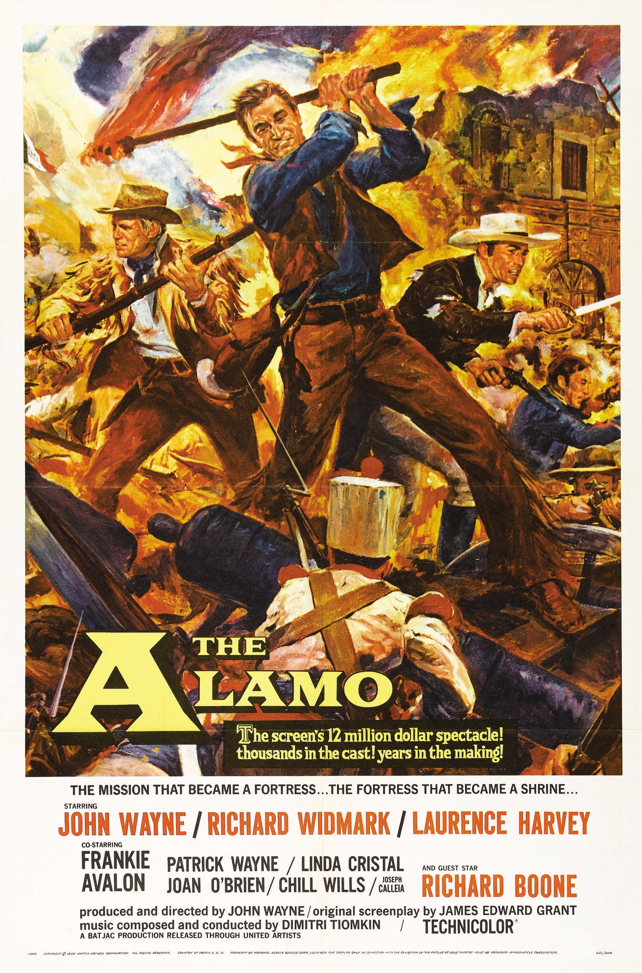 The Alamo kapak