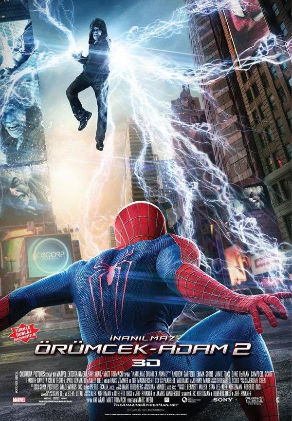 The Amazing Spider-Man 2 kapak