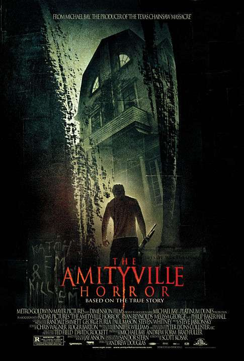 The Amityville Horror kapak