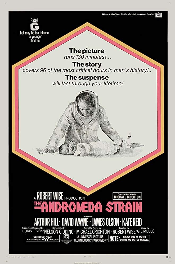 The Andromeda Strain kapak
