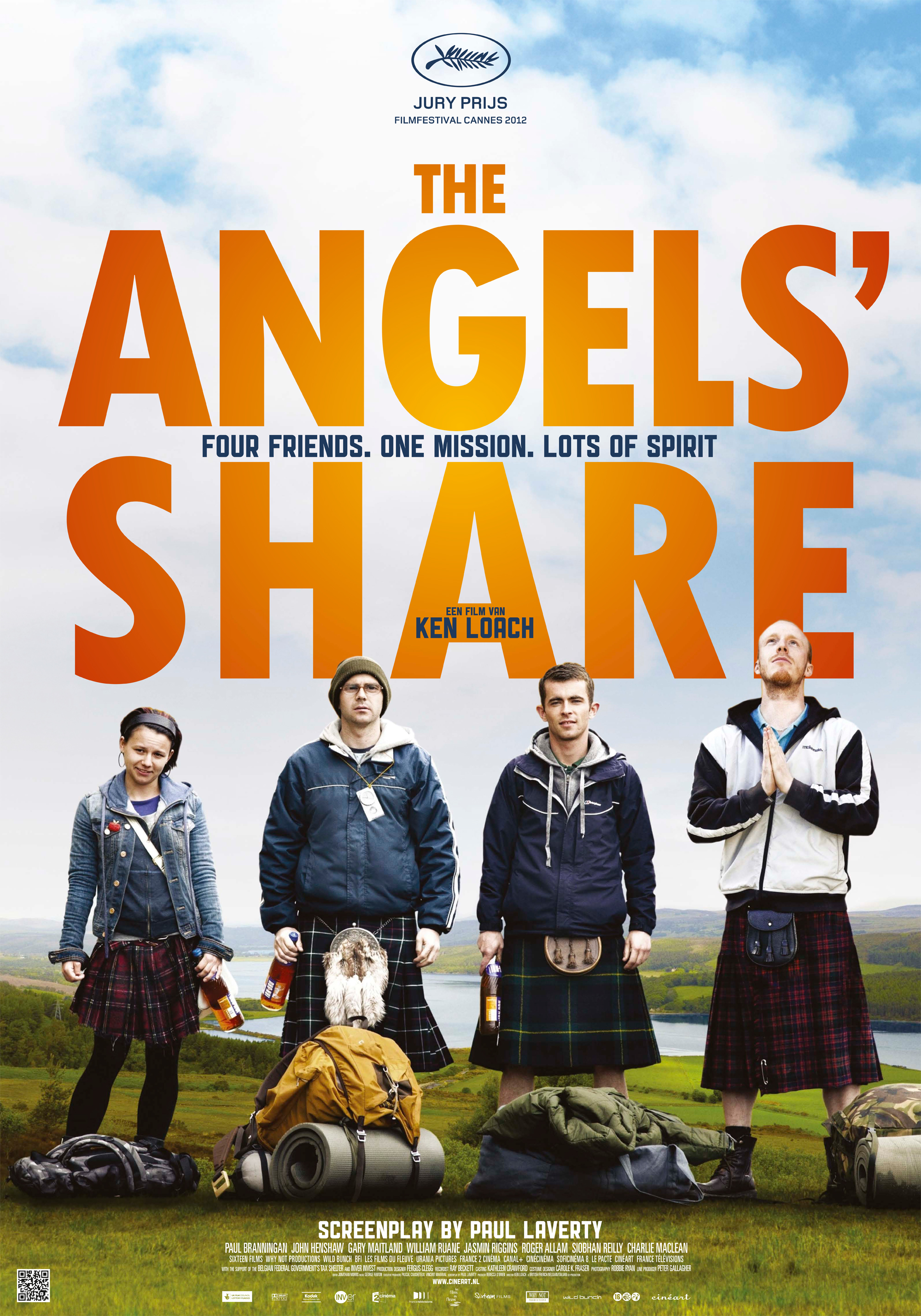 The Angels' Share kapak