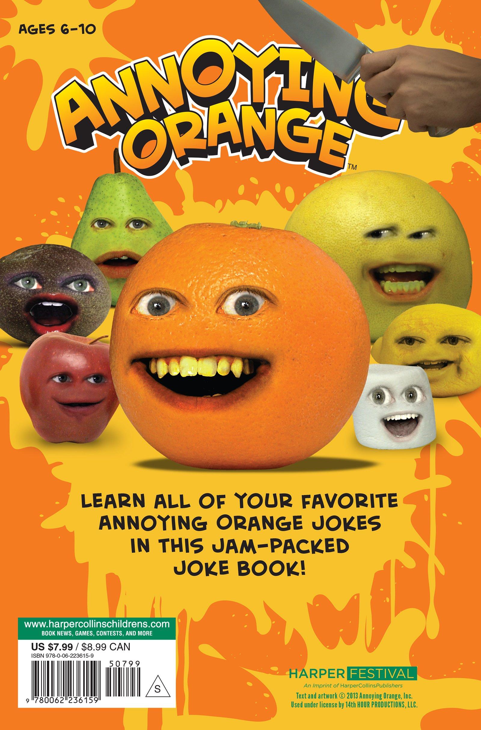 The Annoying Orange kapak