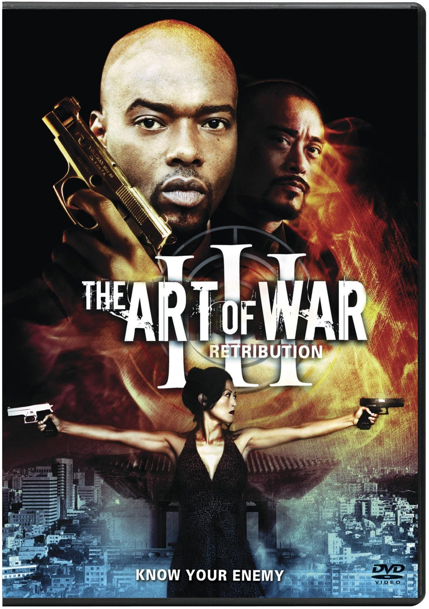 The Art of War III: Retribution kapak