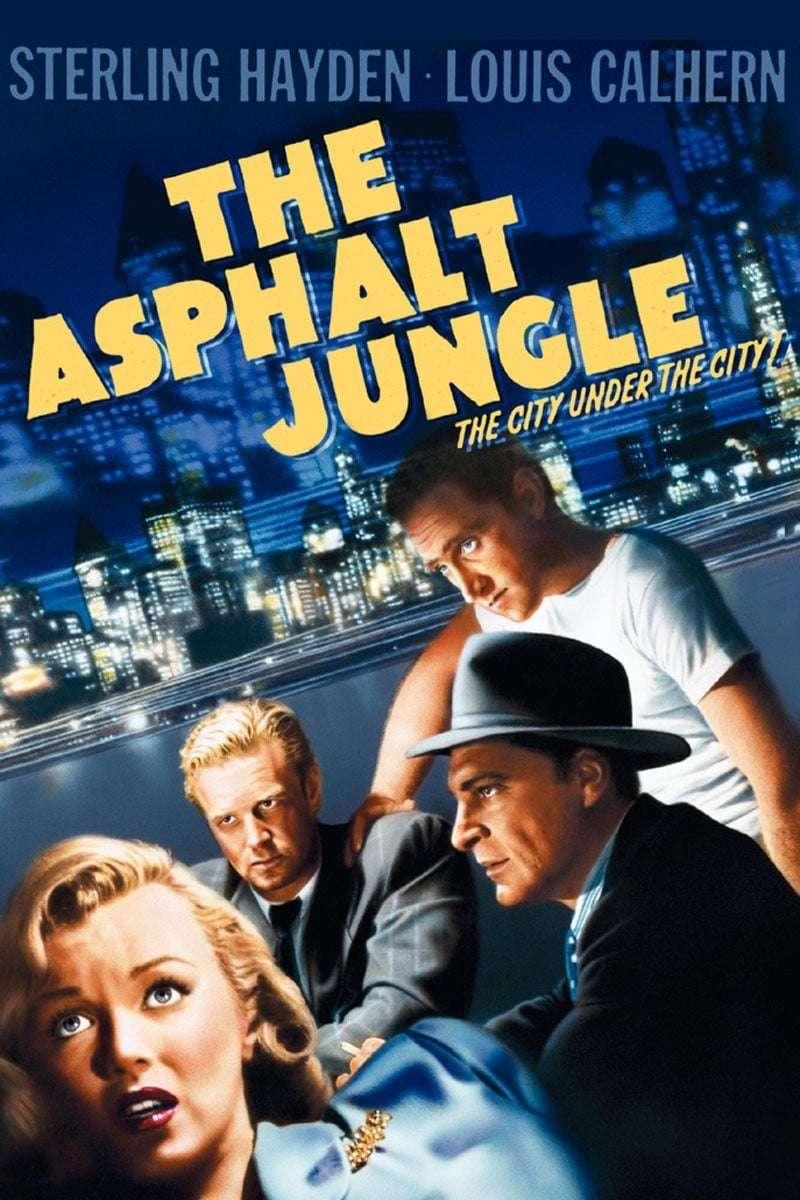 The Asphalt Jungle kapak