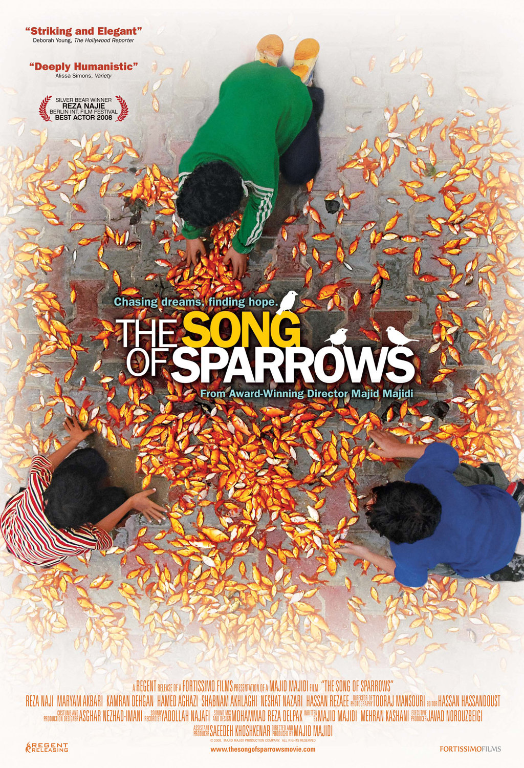 The Song of Sparrows kapak
