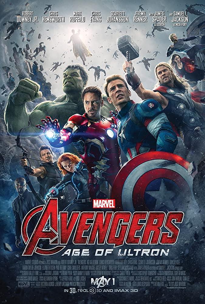 Avengers: Age of Ultron kapak