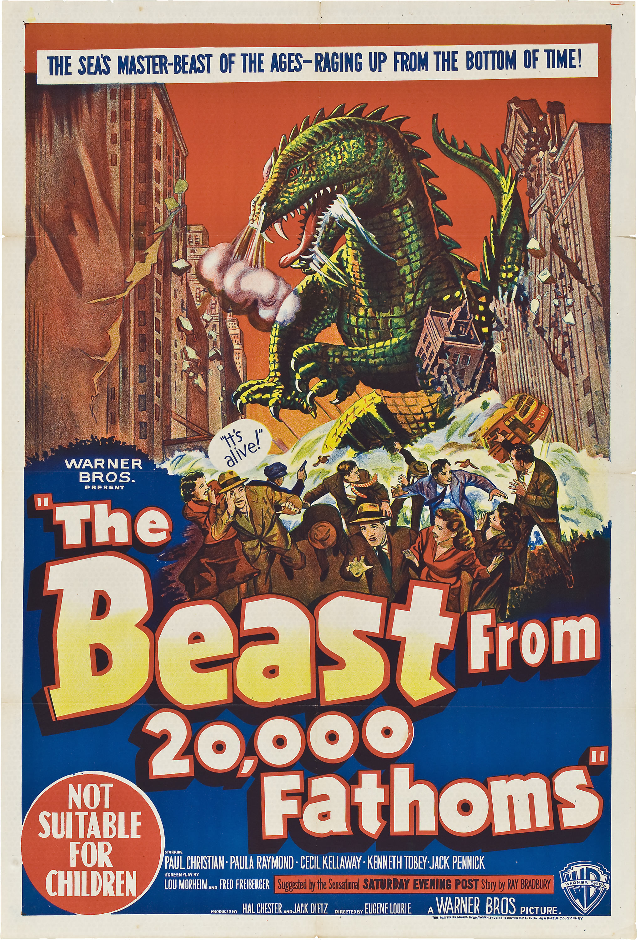 The Beast from 20,000 Fathoms kapak
