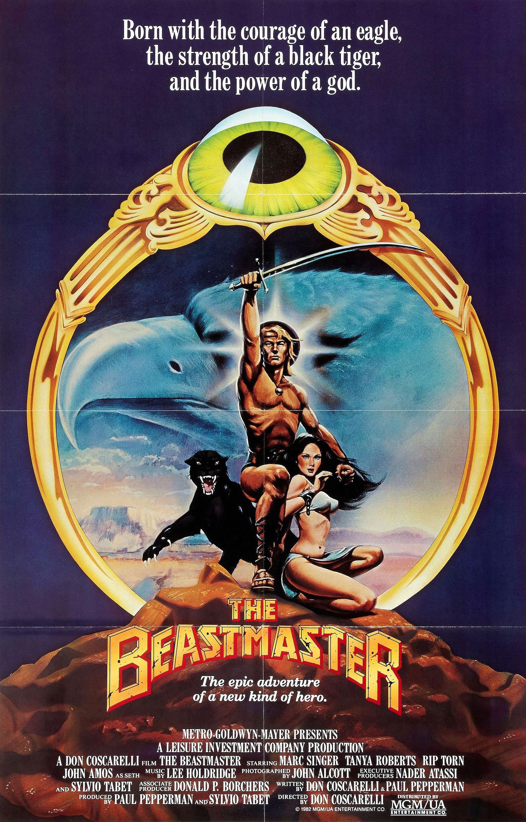 The Beastmaster kapak