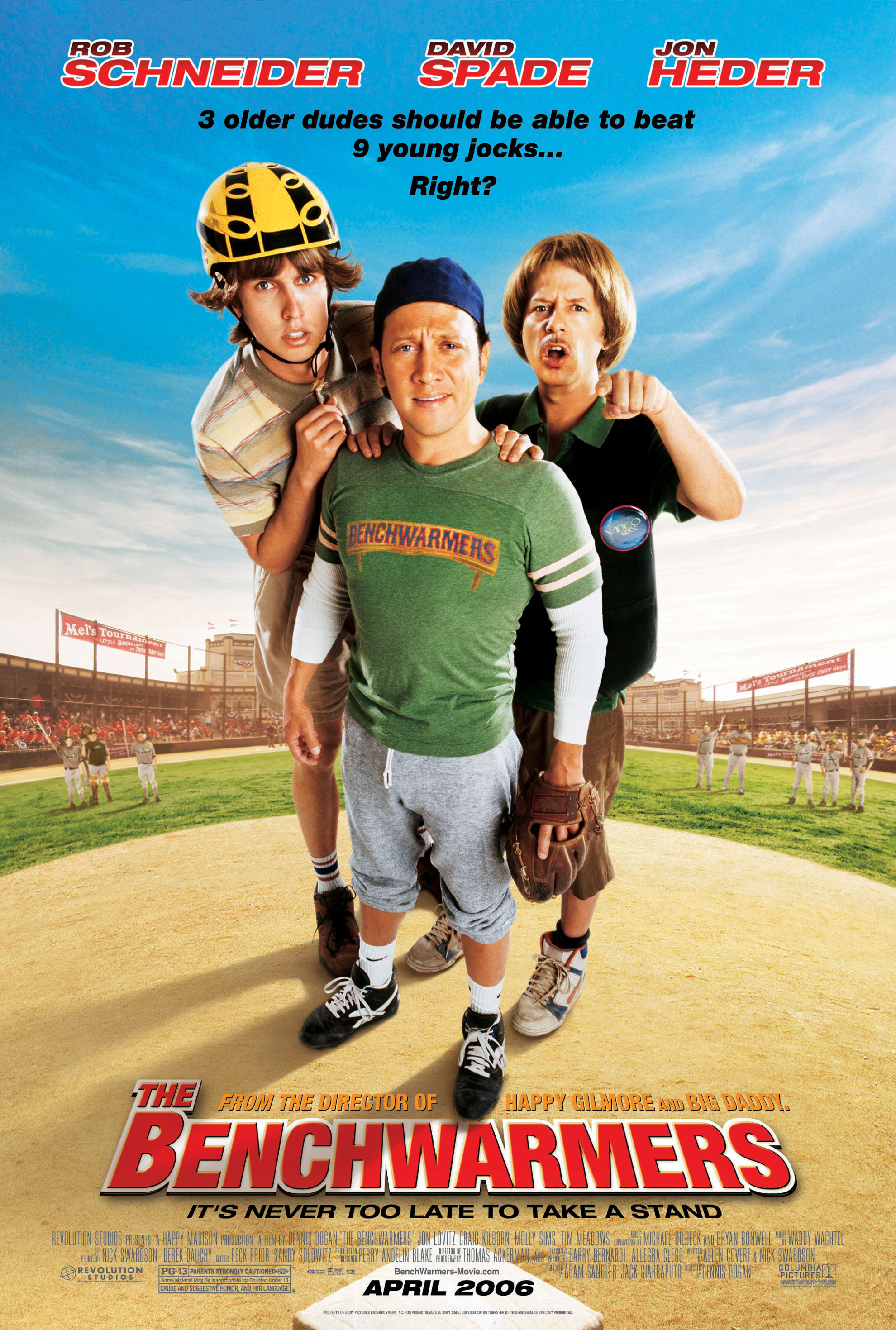 The Benchwarmers kapak