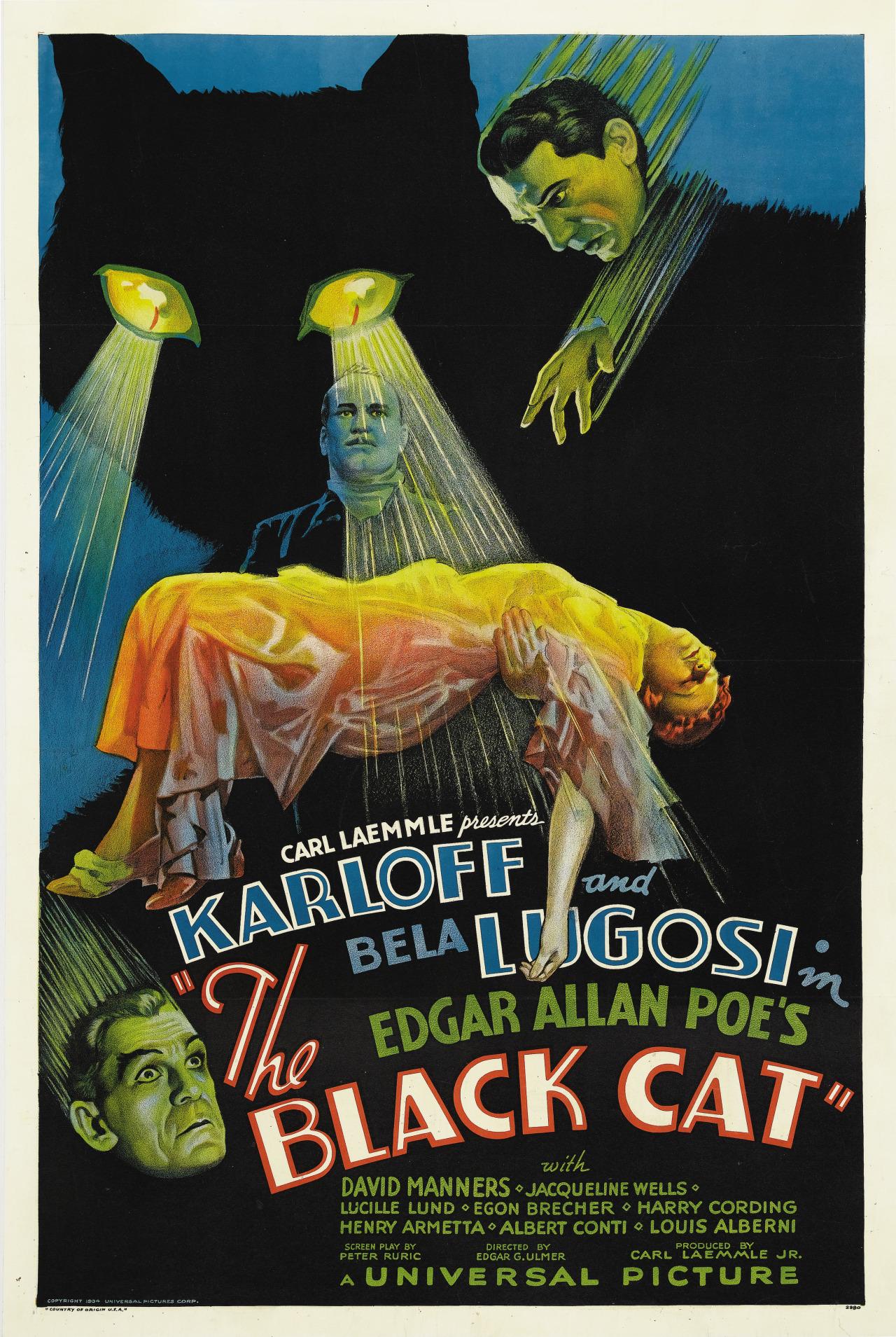 The Black Cat kapak
