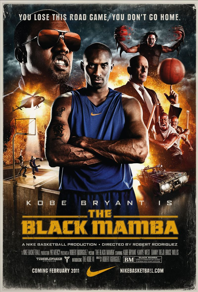 The Black Mamba kapak