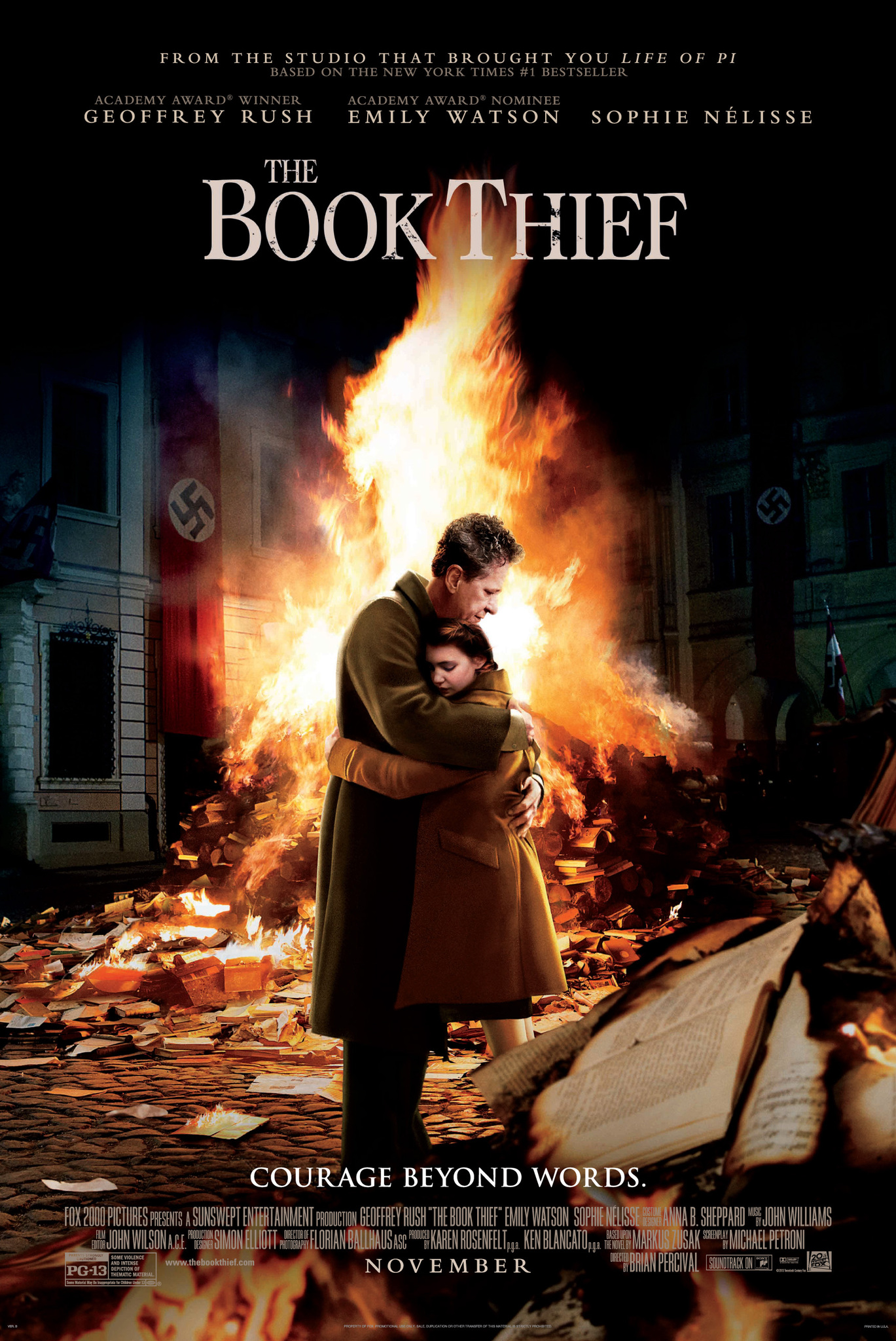 The Book Thief kapak