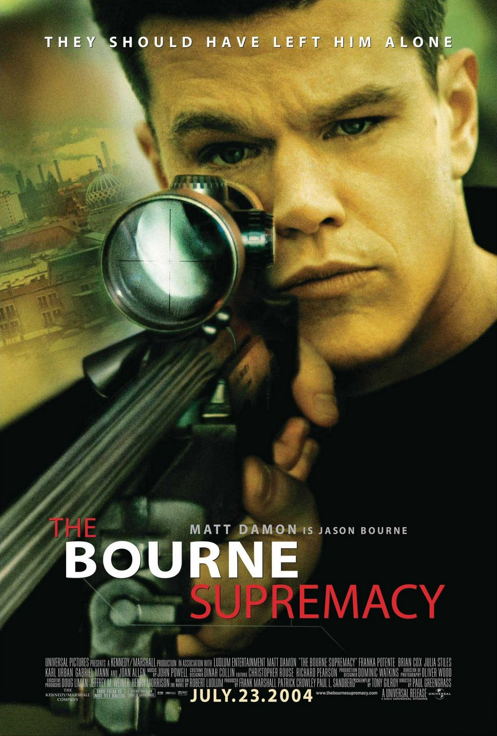 The Bourne Supremacy kapak