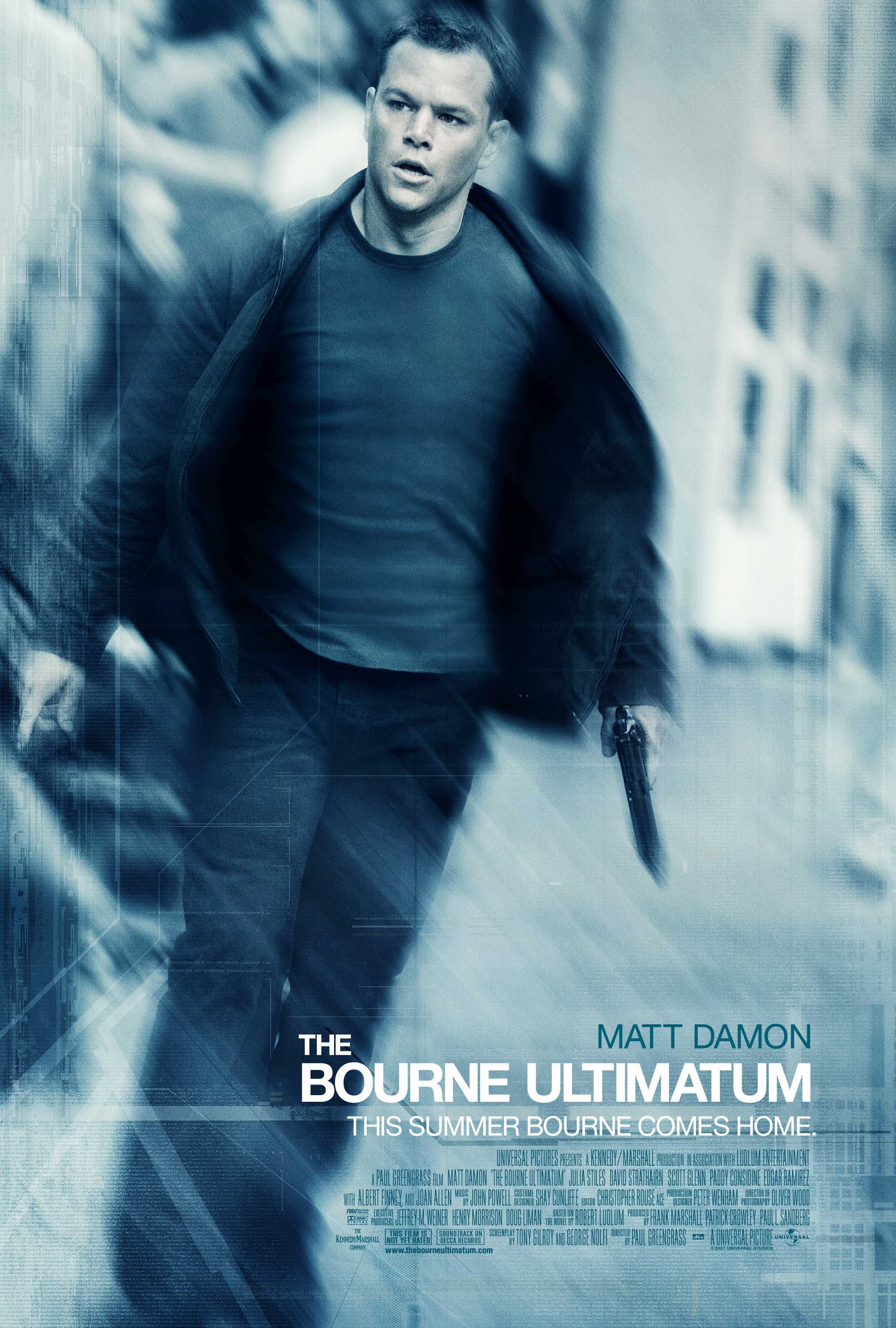The Bourne Ultimatum kapak
