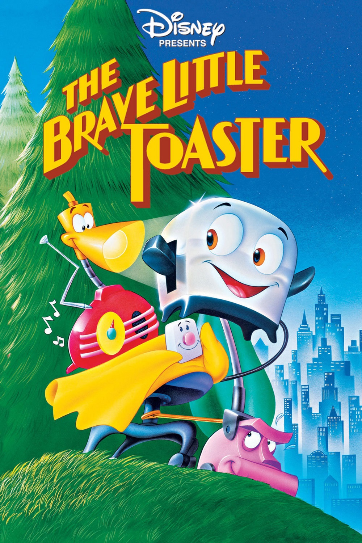 The Brave Little Toaster kapak