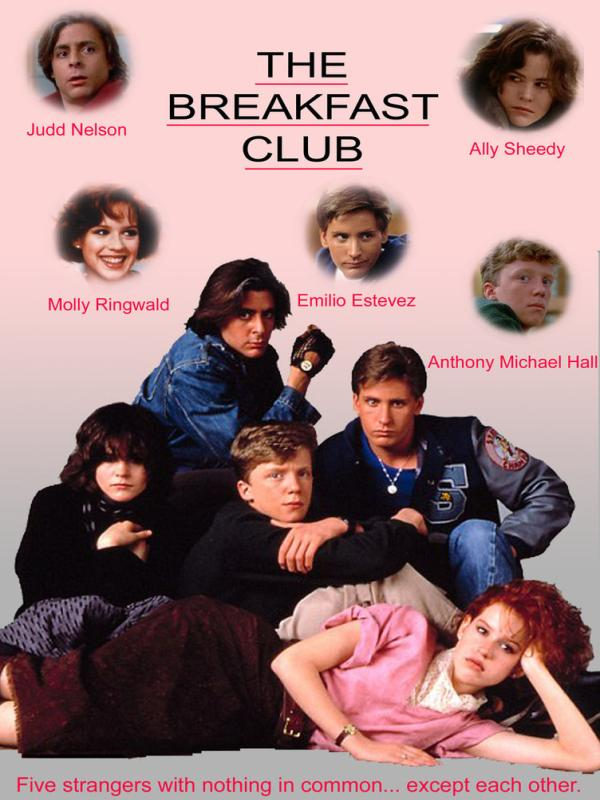 The Breakfast Club kapak