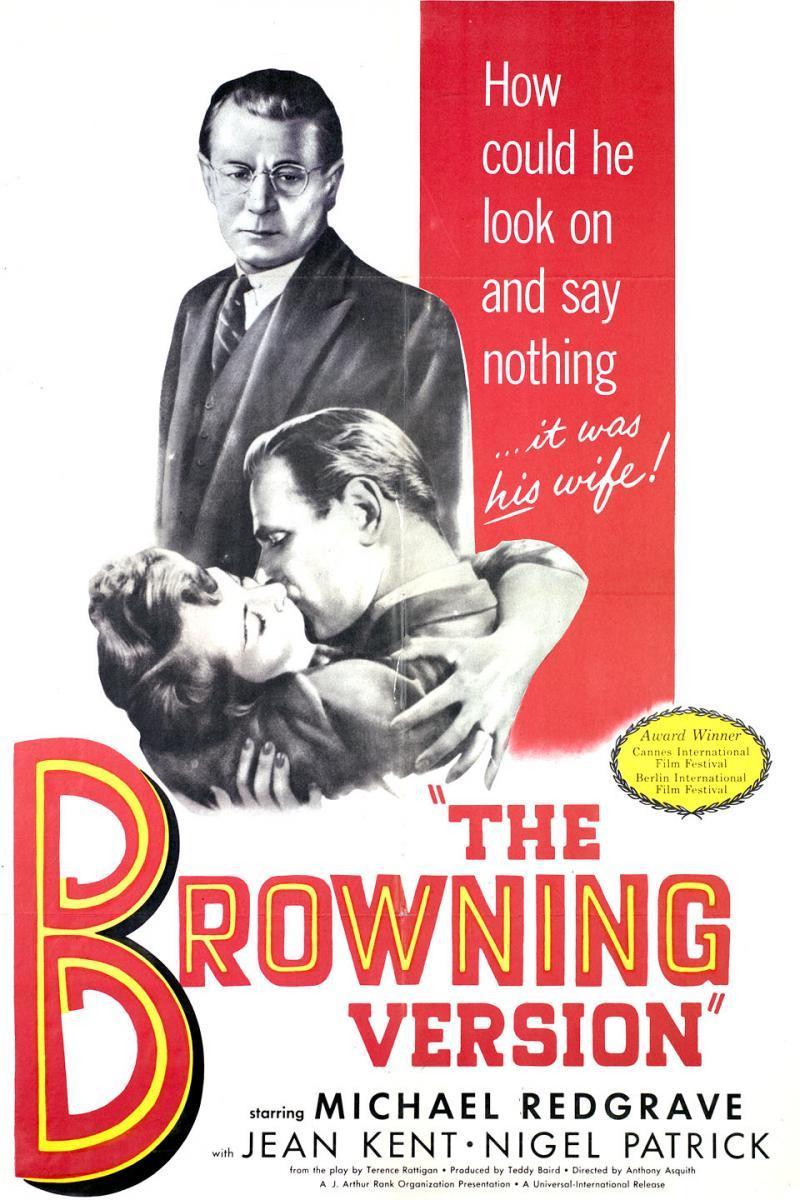 The Browning Version kapak