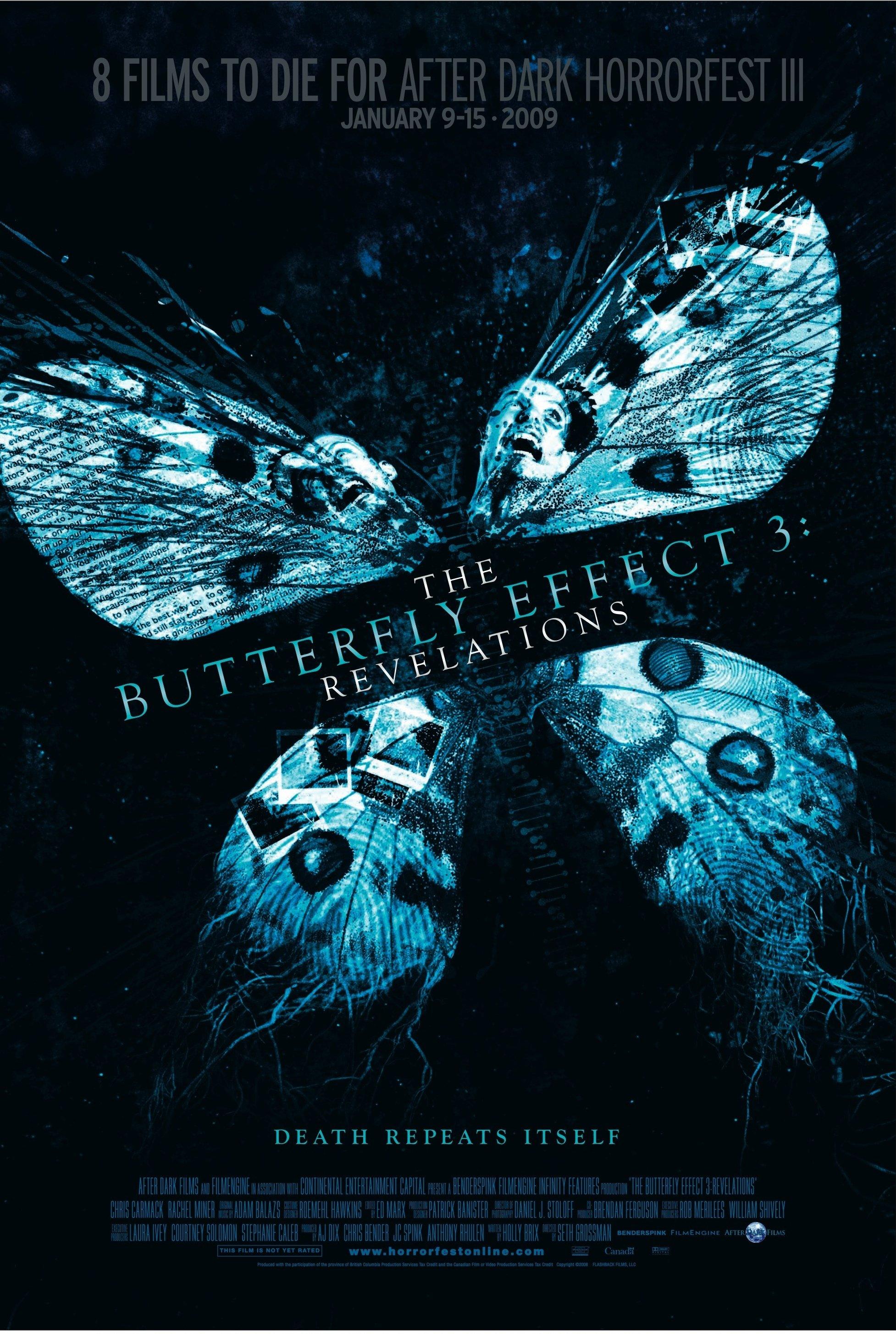 The Butterfly Effect 3: Revelations kapak