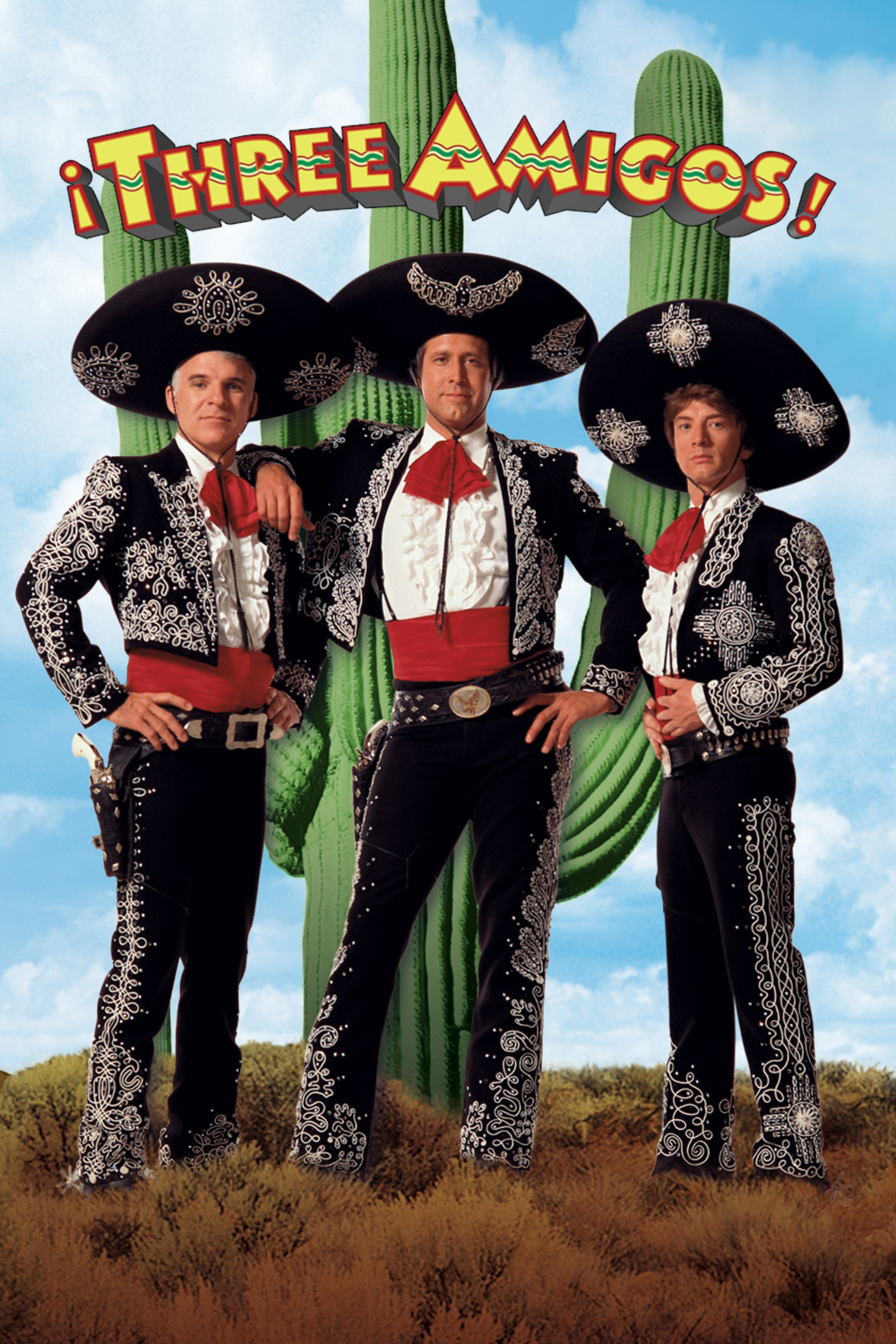 ¡Three Amigos! kapak