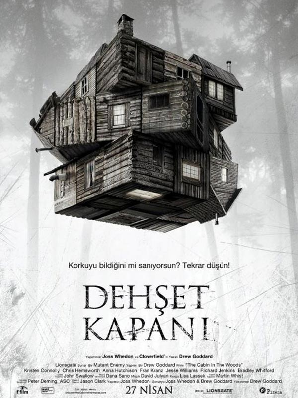 The Cabin in the Woods kapak