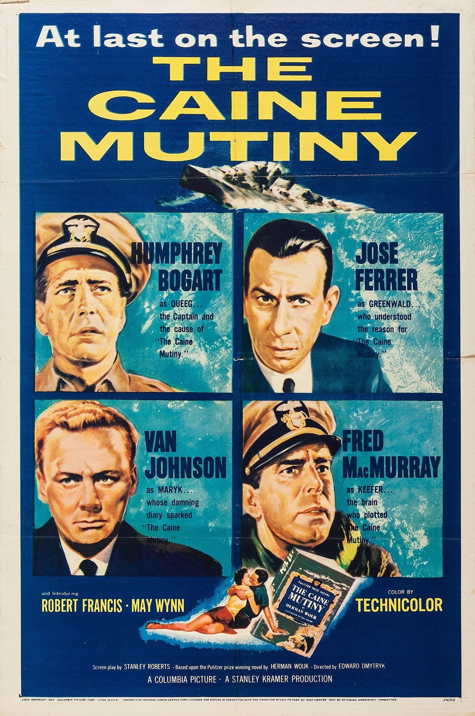 The Caine Mutiny kapak