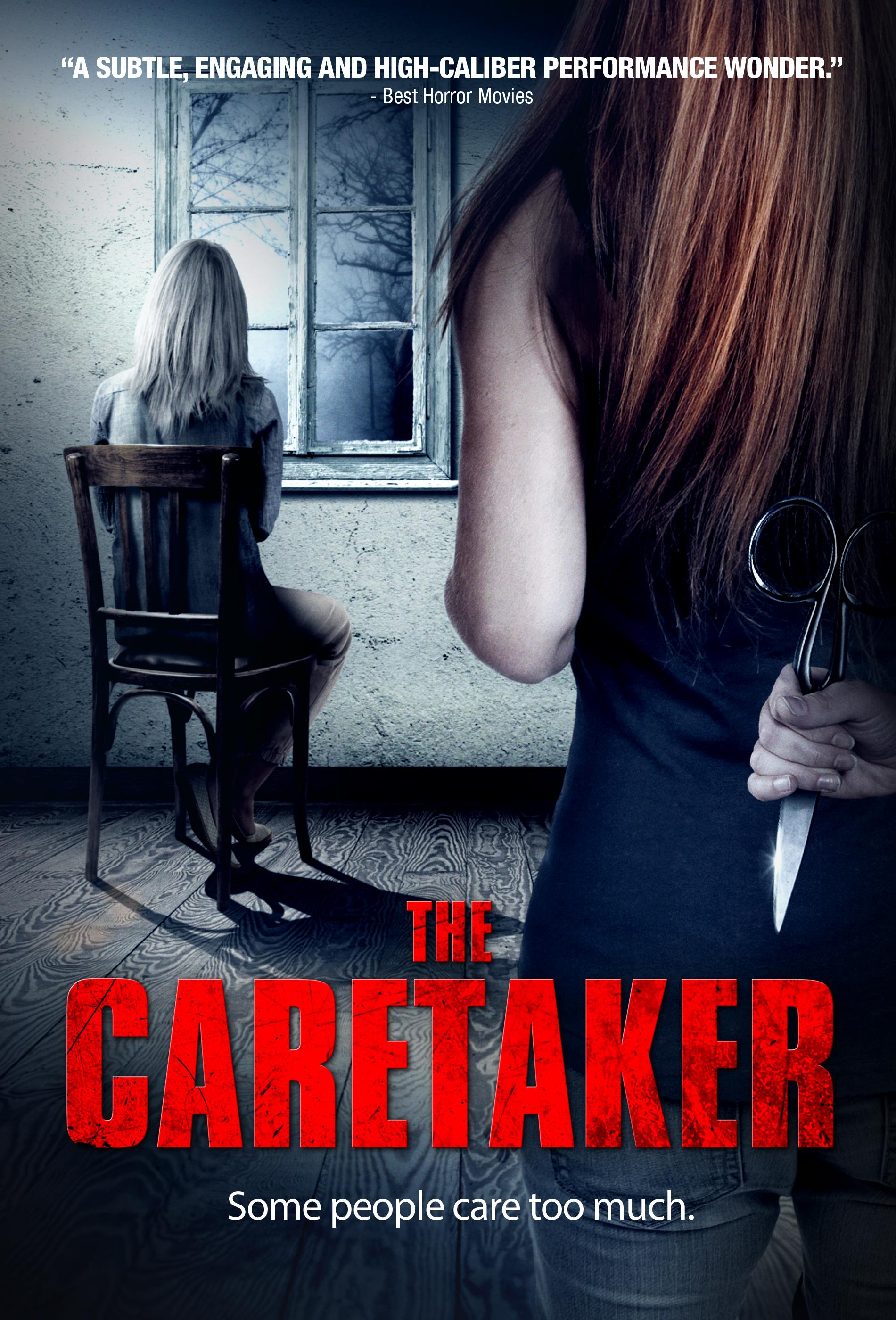 The Caretaker kapak