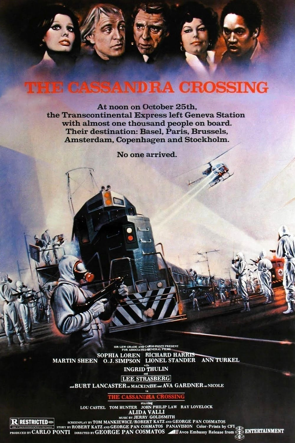 The Cassandra Crossing kapak