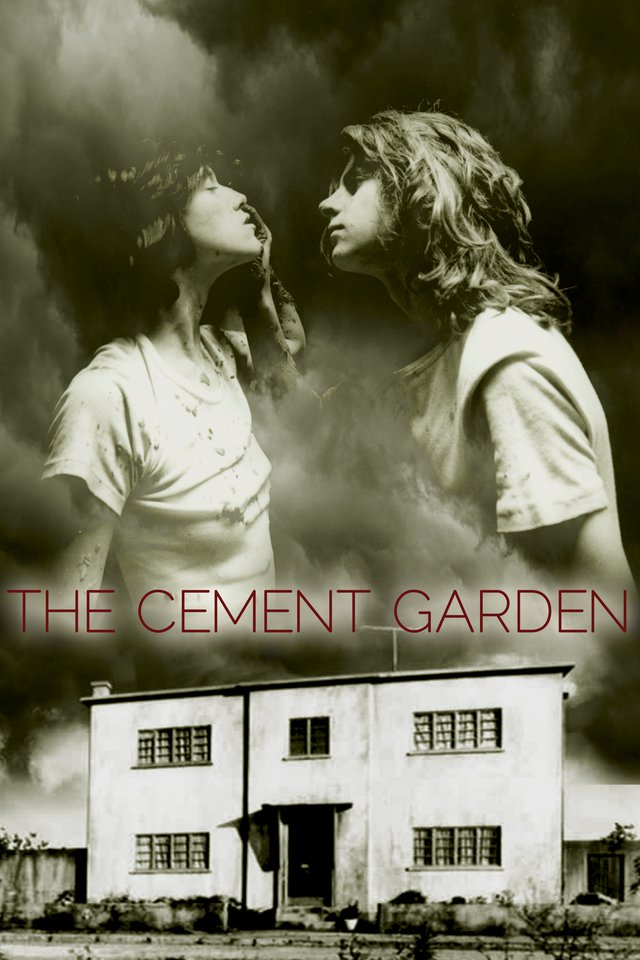 The Cement Garden kapak
