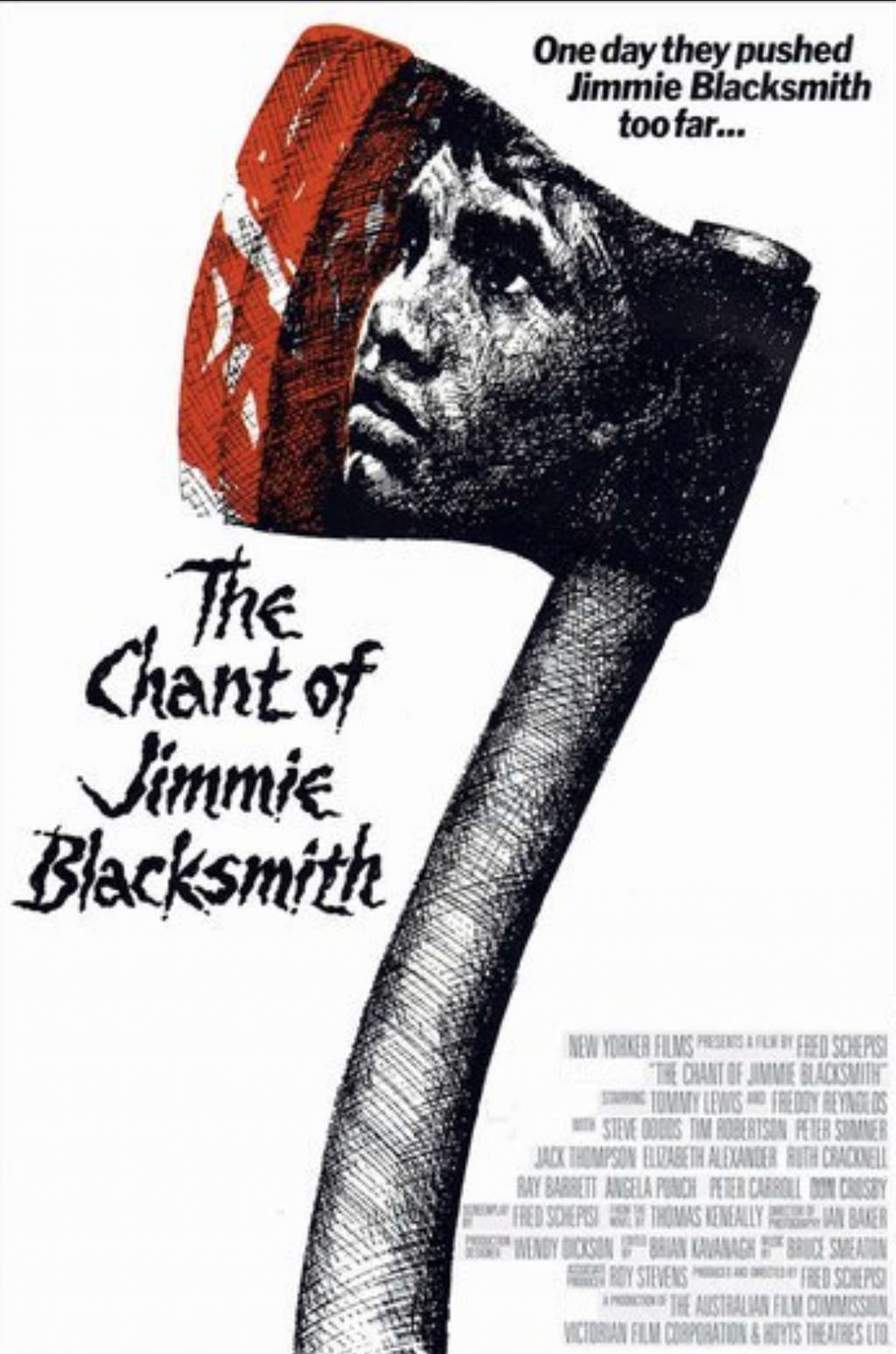 The Chant of Jimmie Blacksmith kapak