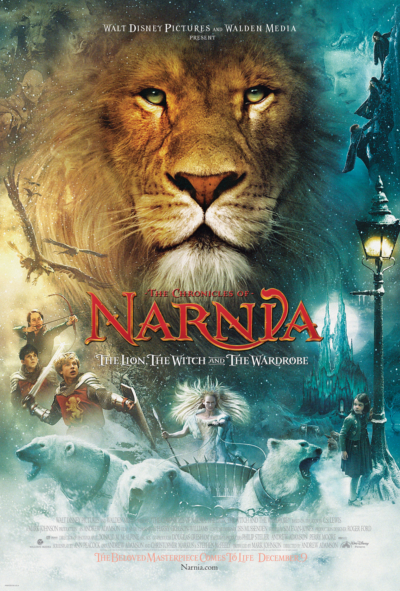The Chronicles of Narnia: The Lion, the Witch and the Wardrobe kapak