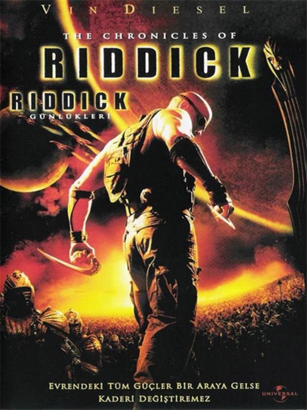 The Chronicles of Riddick kapak