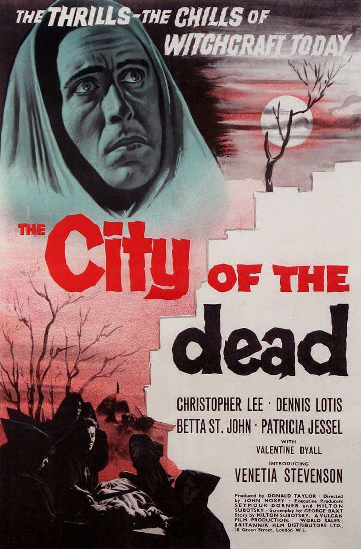 The City of the Dead kapak