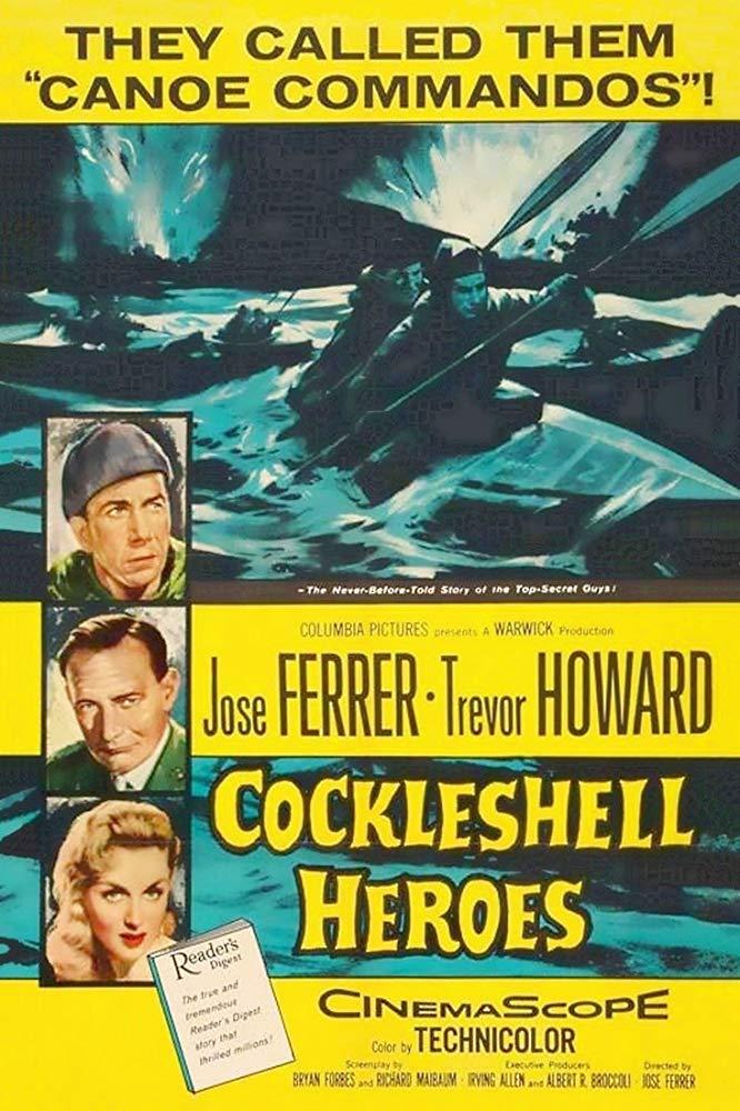 The Cockleshell Heroes kapak