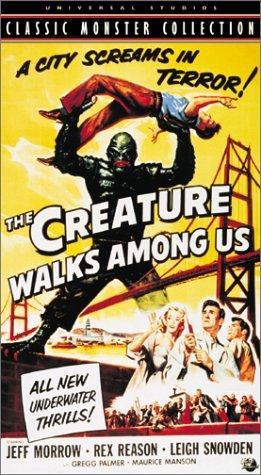 The Creature Walks Among Us kapak