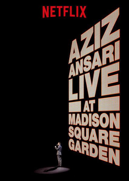 Aziz Ansari Live in Madison Square Garden kapak