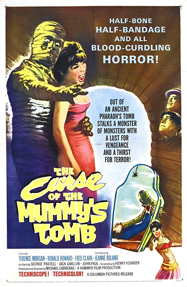 The Curse of the Mummy's Tomb kapak