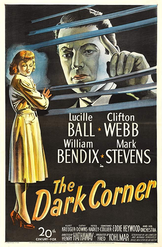 The Dark Corner kapak