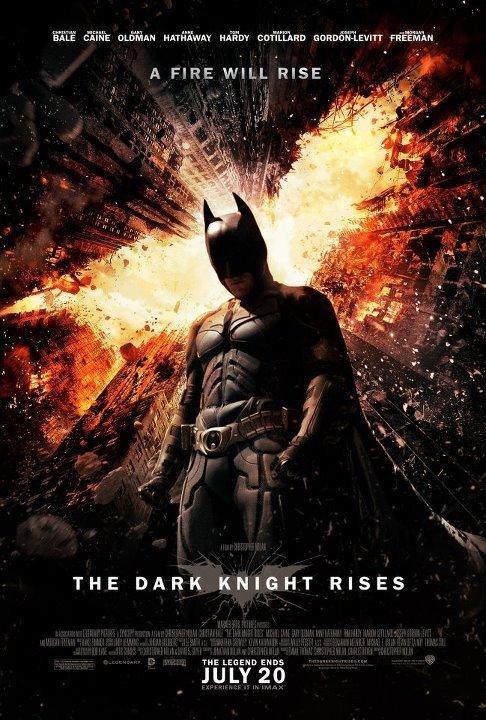 The Dark Knight Rises kapak